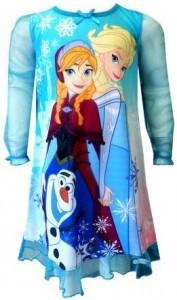Disney Frozen Anna, Elsa and Olaf Nightgown