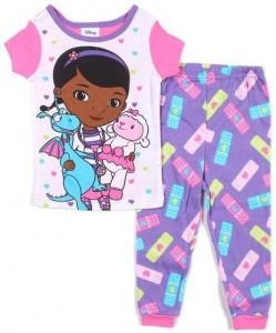 Doc McStuffins, Lambie and Stuffy Girls Pajamas