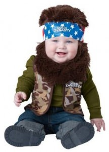 Duck Dynasty Willie Infant Costume