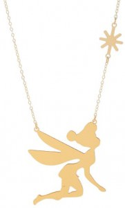Flying Tinker Bell Necklace