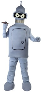 Robot costume from Bender from Futurama