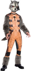 Guardians of the Galaxy Halloween costume of Rocket Raccoon