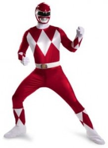 Deluxe Red Power Rangers Costume