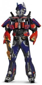 Mens Quality Transformers Optimus Prime Costume