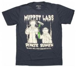 Muppets Beaker Bunsen Labs T-Shirt