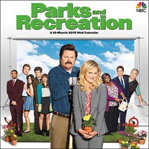 Parks & Recreation 2015 Wall Calendar