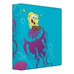 SpongeBob Jelly Fish 3 Ring Binder
