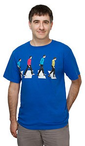 Star Trek Abbey Road T-shirt