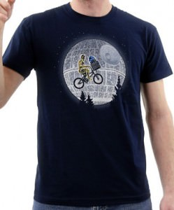 Star Wars Bicycle and ET T-shirt