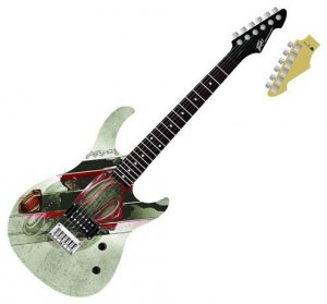 Superman Man of Steel Rockmaster Guitar