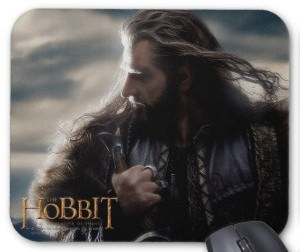 The Hobbit The Desolation of Smaug Thorin Mousepad