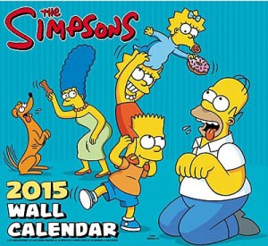 The Simpsons 2015 Wall Calendar