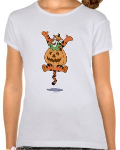 Tigger in Pumpkin T-shirt
