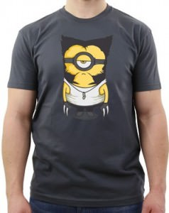 Wolverine Minion Wolverinion T-Shirt