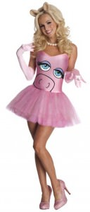 Womens Miss Piggy Costume