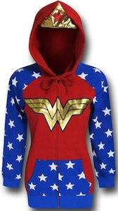 Wonder Woman Costume Hoodie