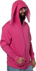 A Christmas Story Pink Bunny Hoodie