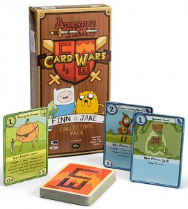 Adventure Time Jake and Finn Card Wars