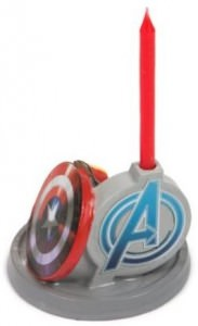 Avengers Birthday Candle Holder