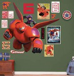 Disney Big Hero 6 Baymax And Hiro Wall Decal Set