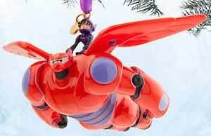 Big Hero 6 Hiro And Baymax Ornament