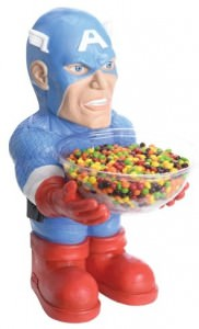 Captain America Statue Bowl Holder
