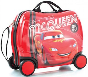 Ligthning McQueen suitcase for kids