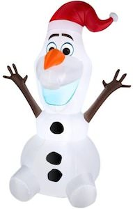 Frozen Olaf Christmas Outdoor Inflatable