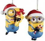 Despicable Me 2 Minions Christmas Ornaments