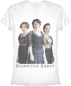 Downton Abbey Crawley Ladies T-Shirt