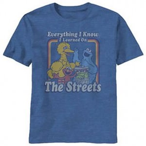 Sesame Street Everything I Know T-Shirt