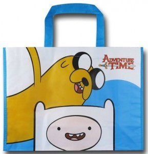 Finn and Jake Adventure Time Tote Bag
