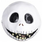 Jack Skellington Full Head Latex Mask