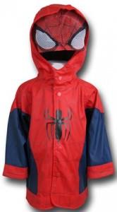 Kids Spiderman Rain Coat
