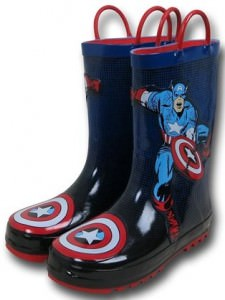 Marvel Captain America Rain Boots