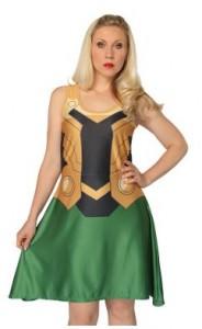 Marvel Loki Dress Costume