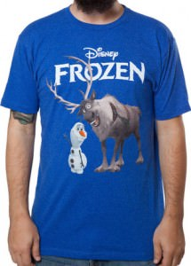 Men's Olaf and Sven Frozen T-shirt