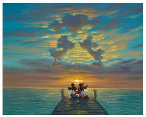 Mickey And Minnie In The Clouds Picture
