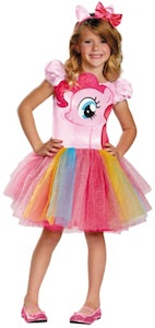 Kids My Little Pony Pinkie Pie Tutu Dress Costume