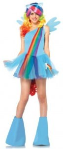 My Little Pony Rainbow Dash Women's Adult Costume