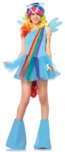 My Little Pony Rainbow Dash Women's Adult Costume