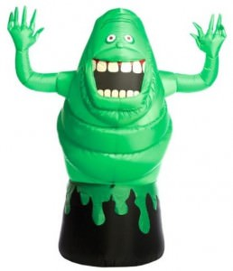 Slimer Ghostbusters Outdoor Inflatable Lawn Prop
