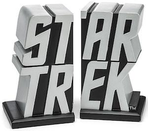 Star Trek Logo Bookends