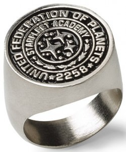 Star Trek Starfleet Ring Class Of 2258