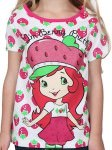 Girls Strawberry shortcake t-shirt