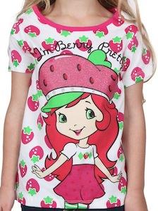 Girls Strawberry shortcake t-shirt