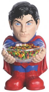 Superman Party Candy Bowl Holder