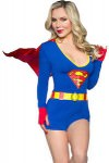 Supergirl Women's Romper Costume