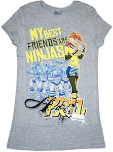 My Best Friends Are Ninja's April O'Niel T-Shirt
