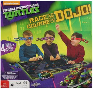 Teenage Mutant Ninja Turtles Race to the Dojo Board Game